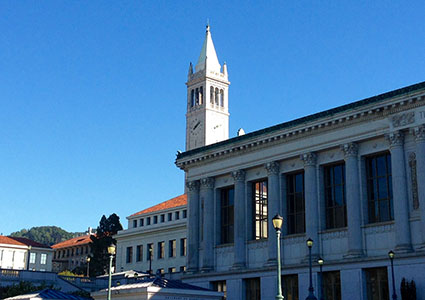 Berkeley Campus, photo by V. Chikovani