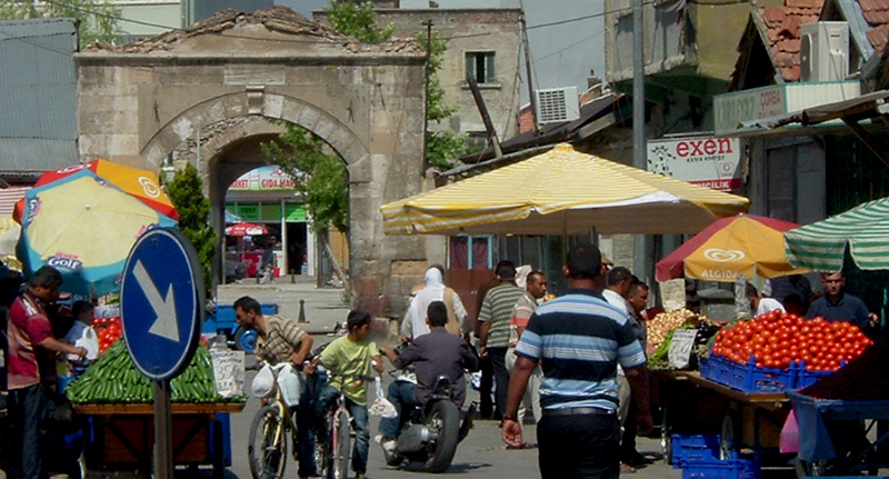 Konya bazaar, Turkey, courtesy to J. Hayes and K. Tandy