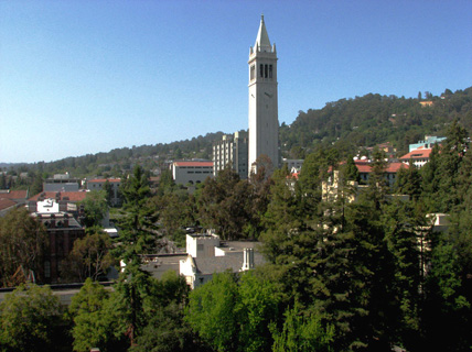 UC Berkeley campus, photo by S. Kurtsikidze