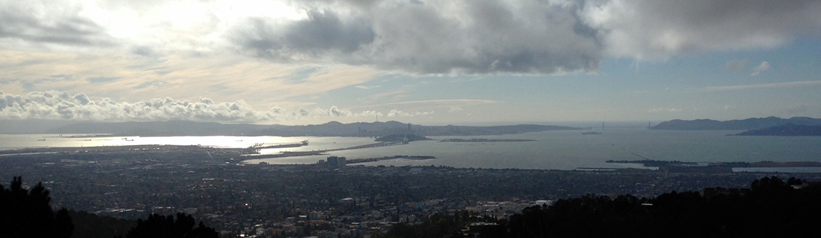 View of San Francisco Bay, picture by V. Chikovani