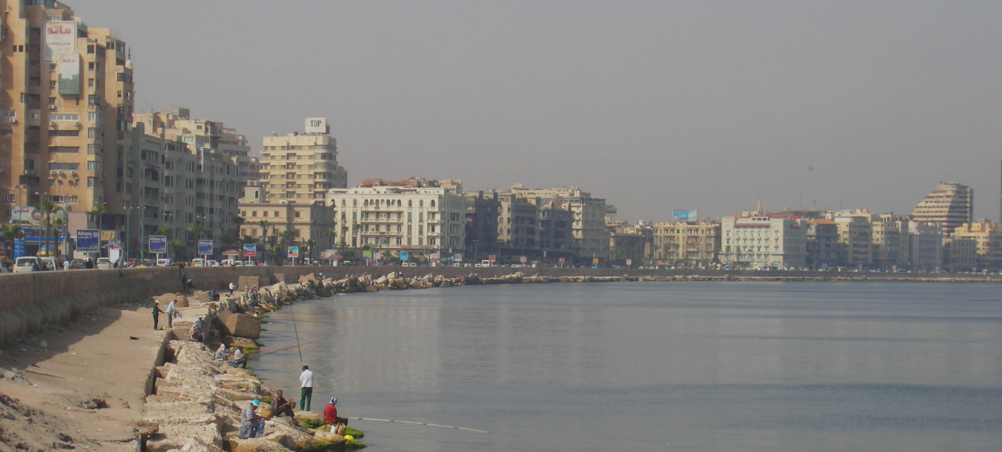 Alexandria, Egypt, Courtesy to J. Li