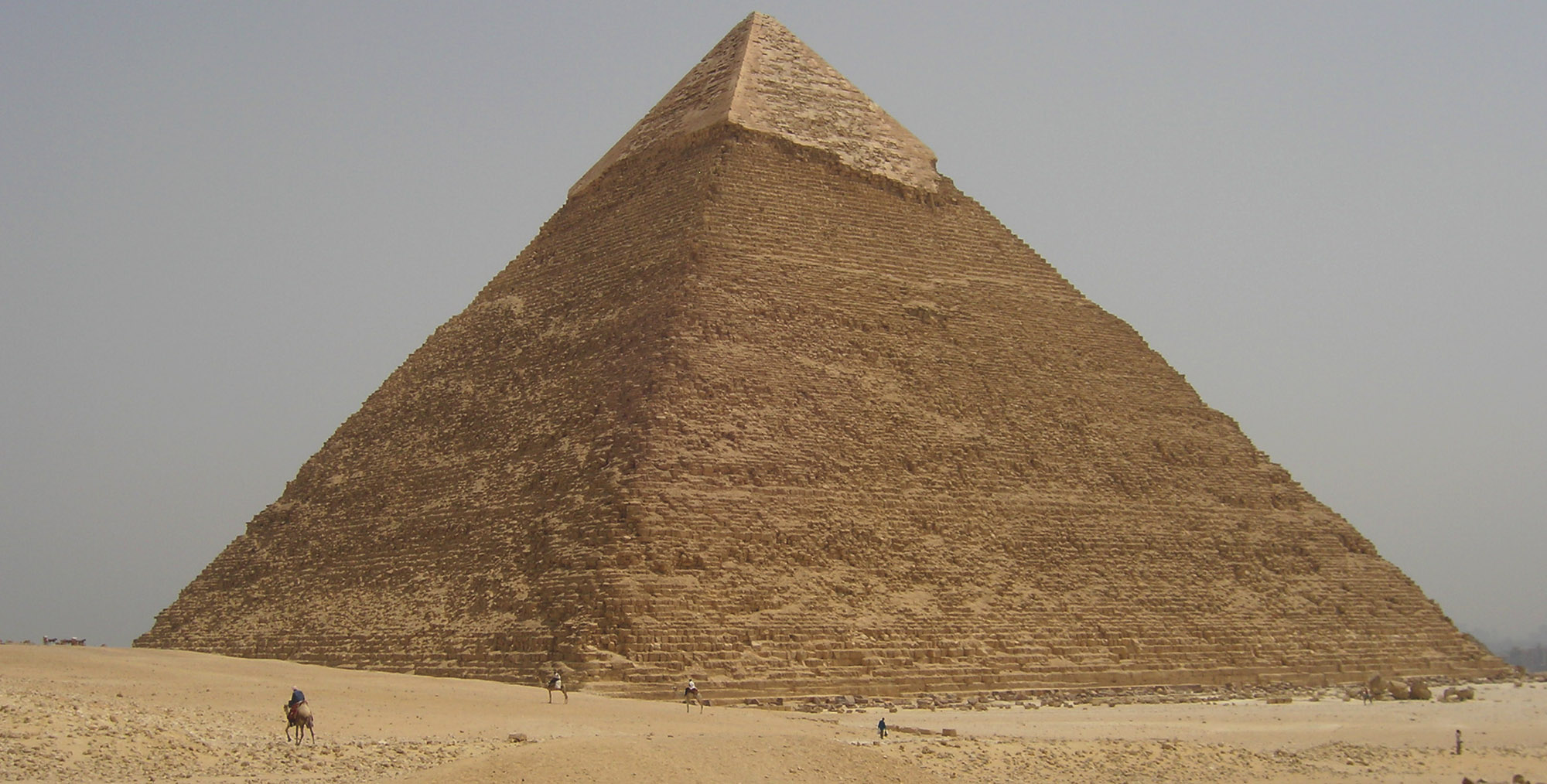Pyramid of Khafre, Giza, courtesy to C. Redmount, J.Li